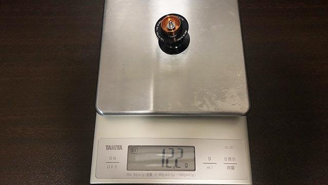 21 アルファス SV TW スプール重量