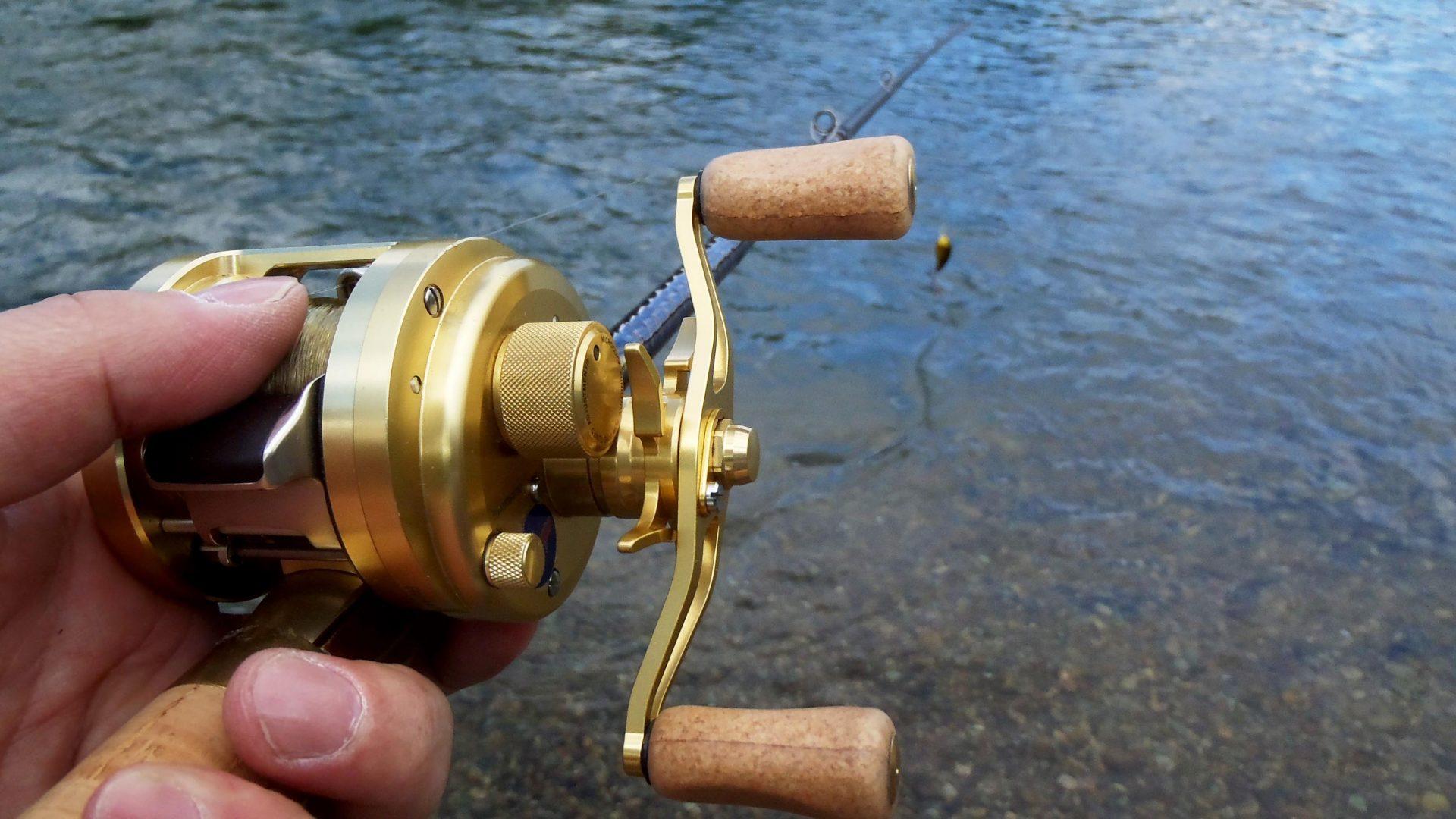 クランクベイトでニジマスを釣る